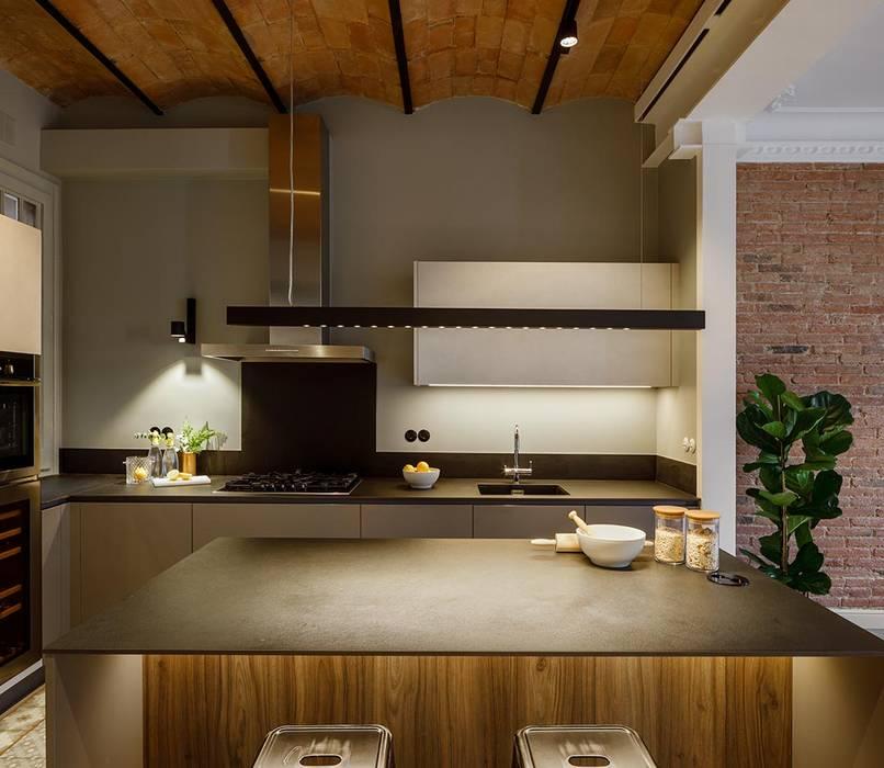 Cocina Vivienda Cocinas de estilo minimalista de Sezam disseny d'Interiors SL Minimalista