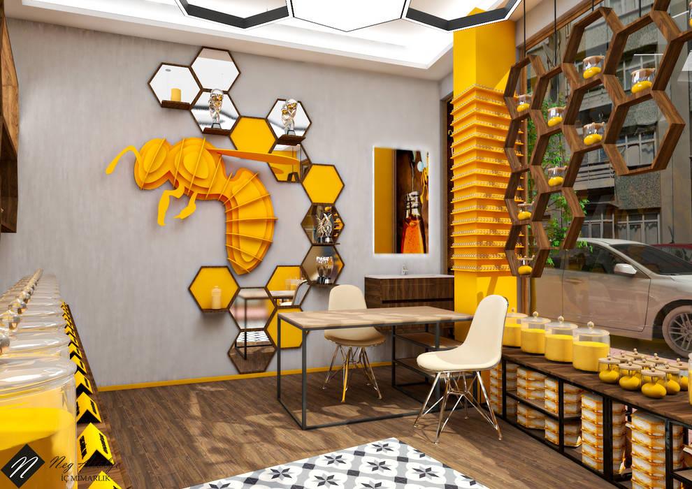 Arı Duvarı NEG ATÖLYE İÇ MİMARLIK Ahşap rengi