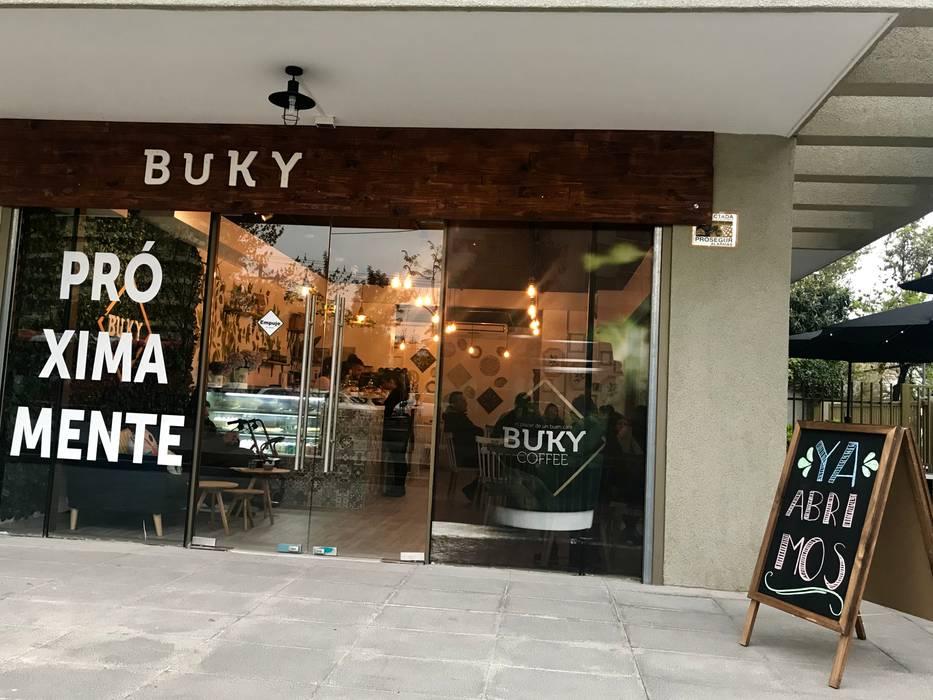 Cafeteria BUKY de Agapanto Rústico Madera Acabado en madera