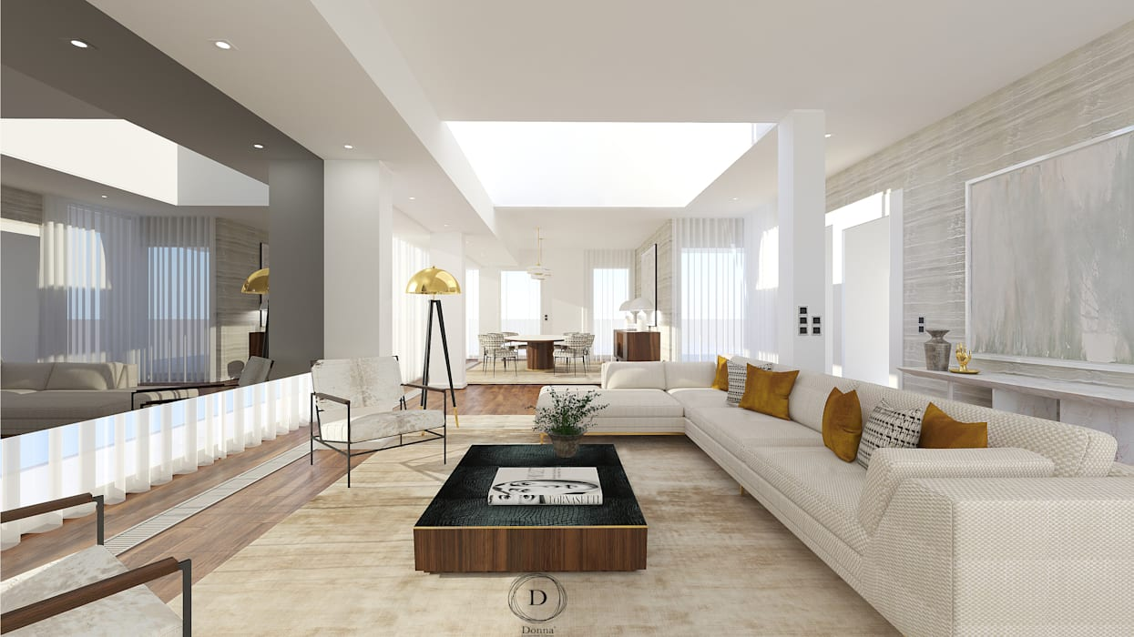 Ruang Keluarga Modern Oleh Donna - Exclusividade e Design Modern