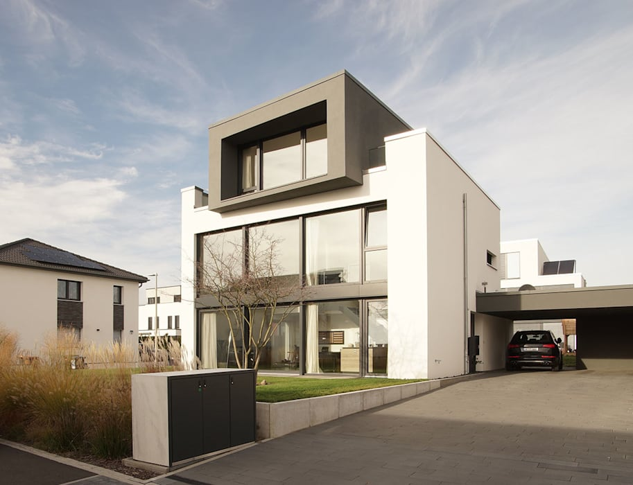 Neubau Loft Passivhaus Moderne Häuser von seyfarth stahlhut architekten bda Part GmbB Modern