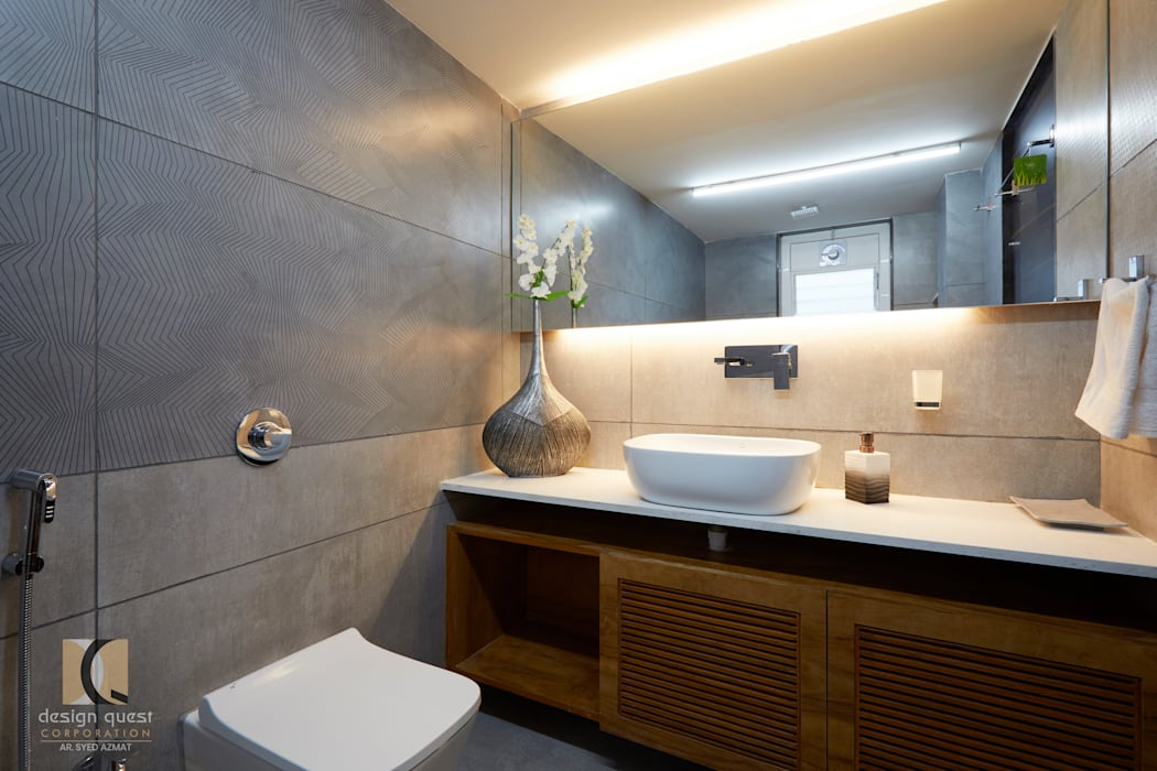 Renovation project Minimalist bathroom by Design Quest Minimalist