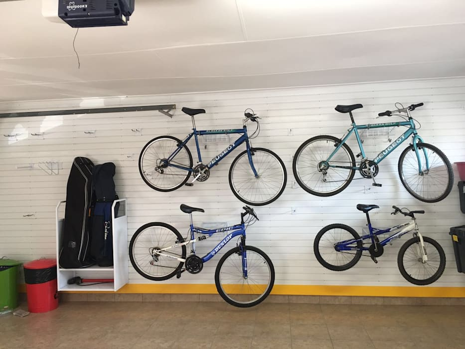 Bike Storage Ideas for your Garage Wall by MyGarage Modern
