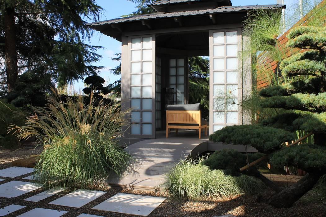 Zen Jardines de estilo asiático de GreenEv LD Asiático
