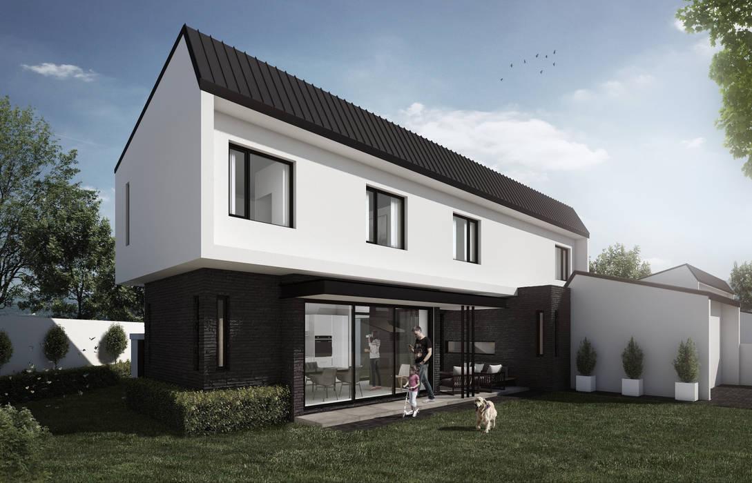 Casas estilo moderno: ideas, arquitectura e imágenes de Urban Habitat Architects Moderno