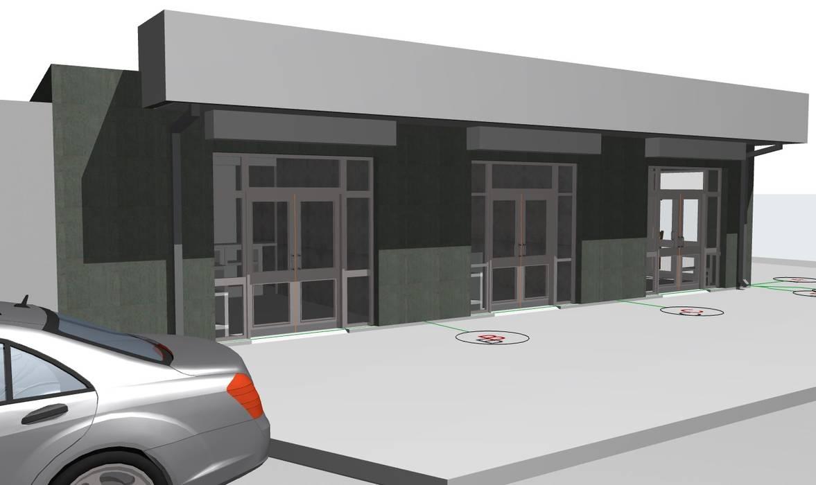 ARQUITECTO CHILLAN EIRL Shopping Centres Metal Green