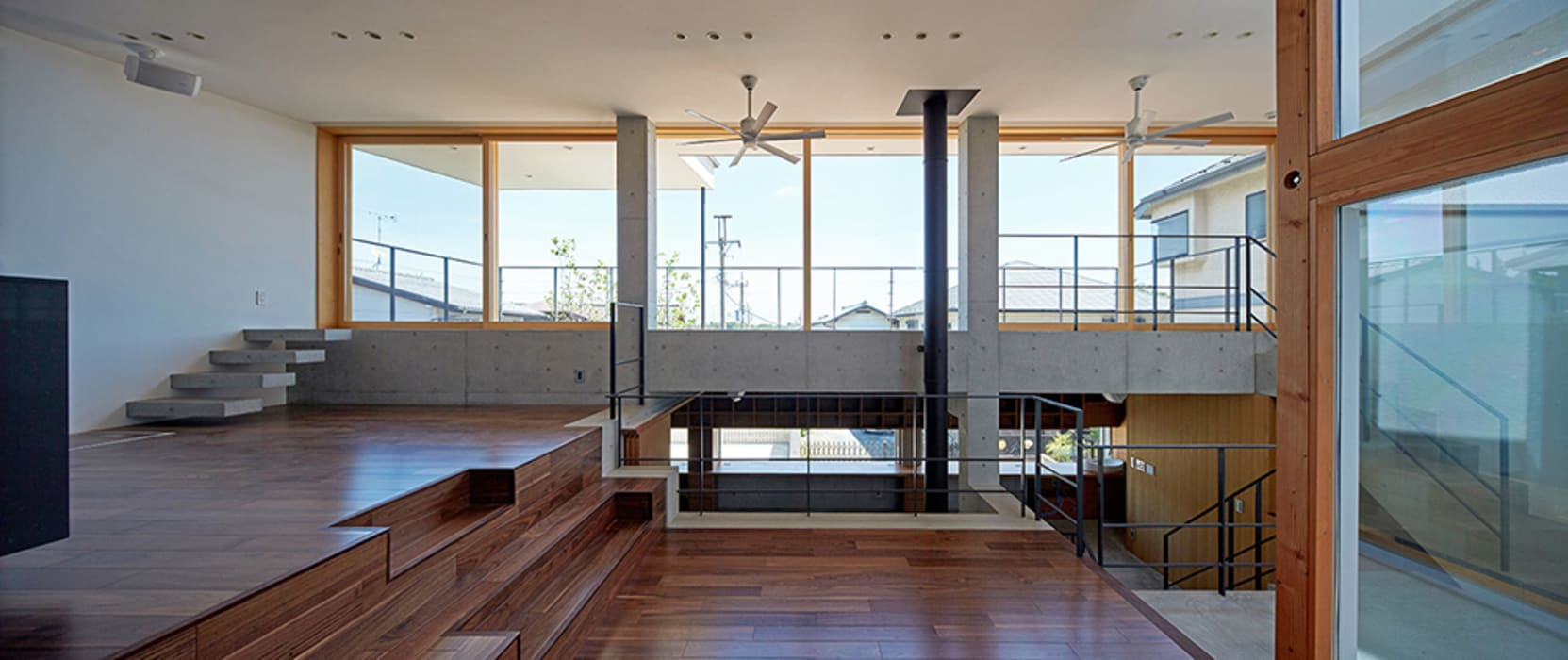 LDK モダンデザインの リビング の 株式会社小島真知建築設計事務所 / Masatomo Kojima Architects モダン