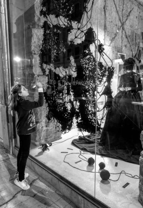 Exposición R.AMA Ana Salomé Branco ArteObjetos artísticos Lana Negro