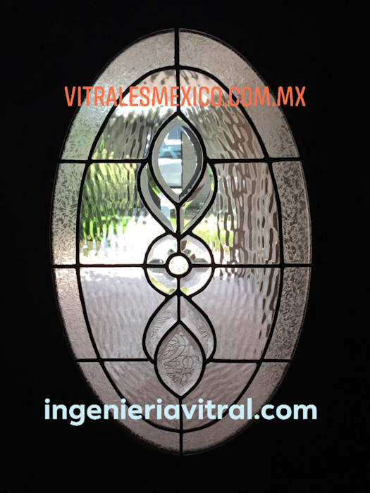 Modern style doors by Ingeniería Vitral Modern
