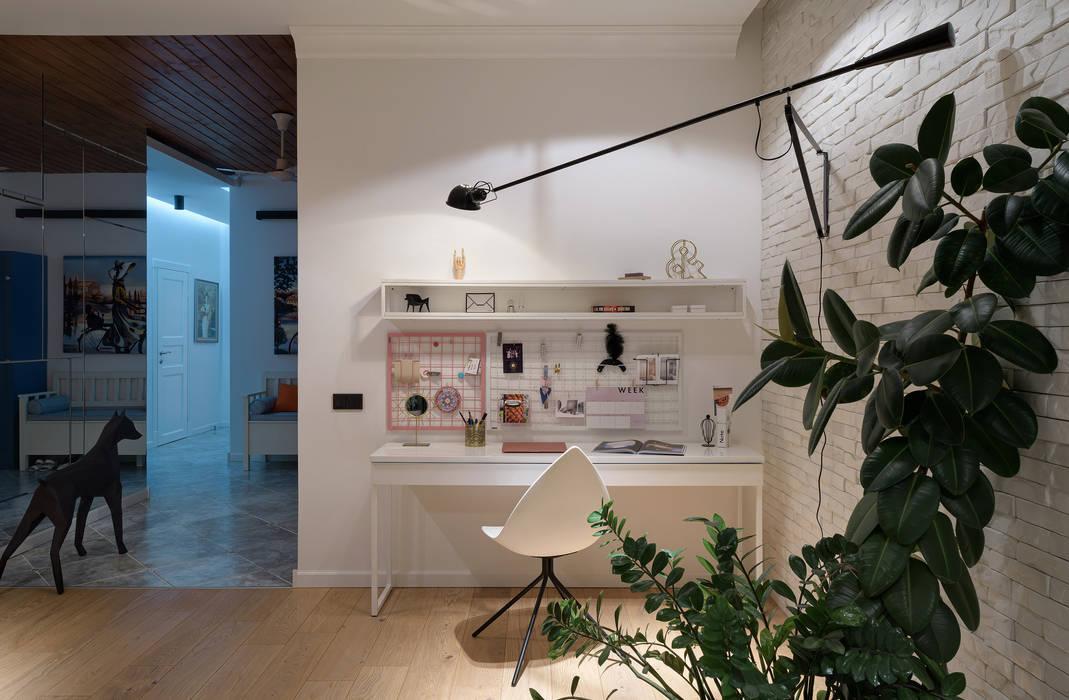 SAZONOVA group Scandinavian style study/office