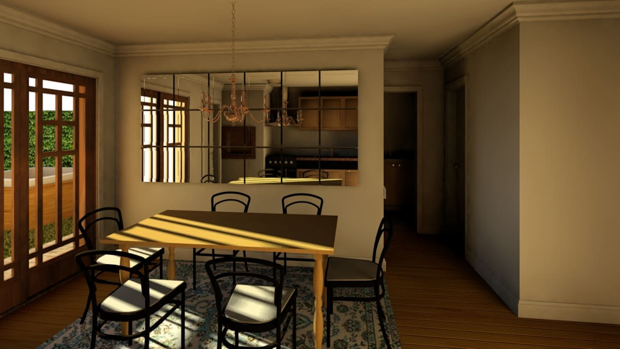Classic style dining room by Graziela Alessio Arquitetura Classic