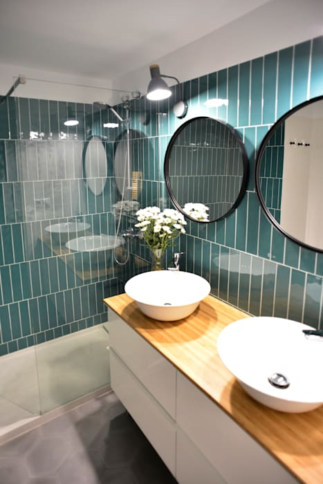 Modern bathroom by LAP arquitectos Modern