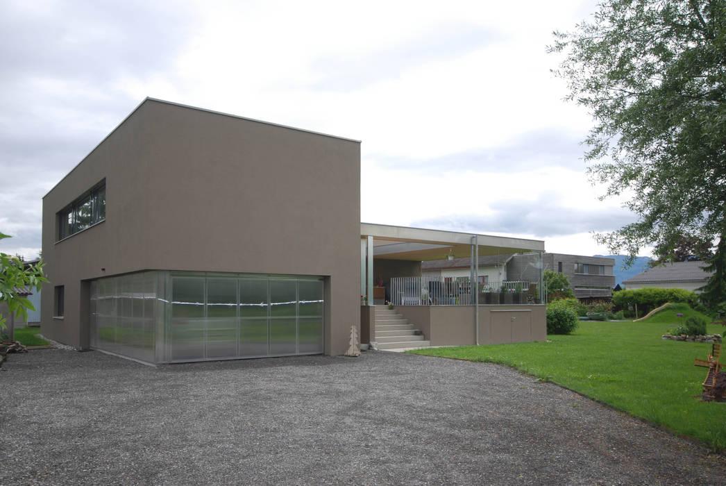schroetter-lenzi Architekten Maison individuelle Briques Marron