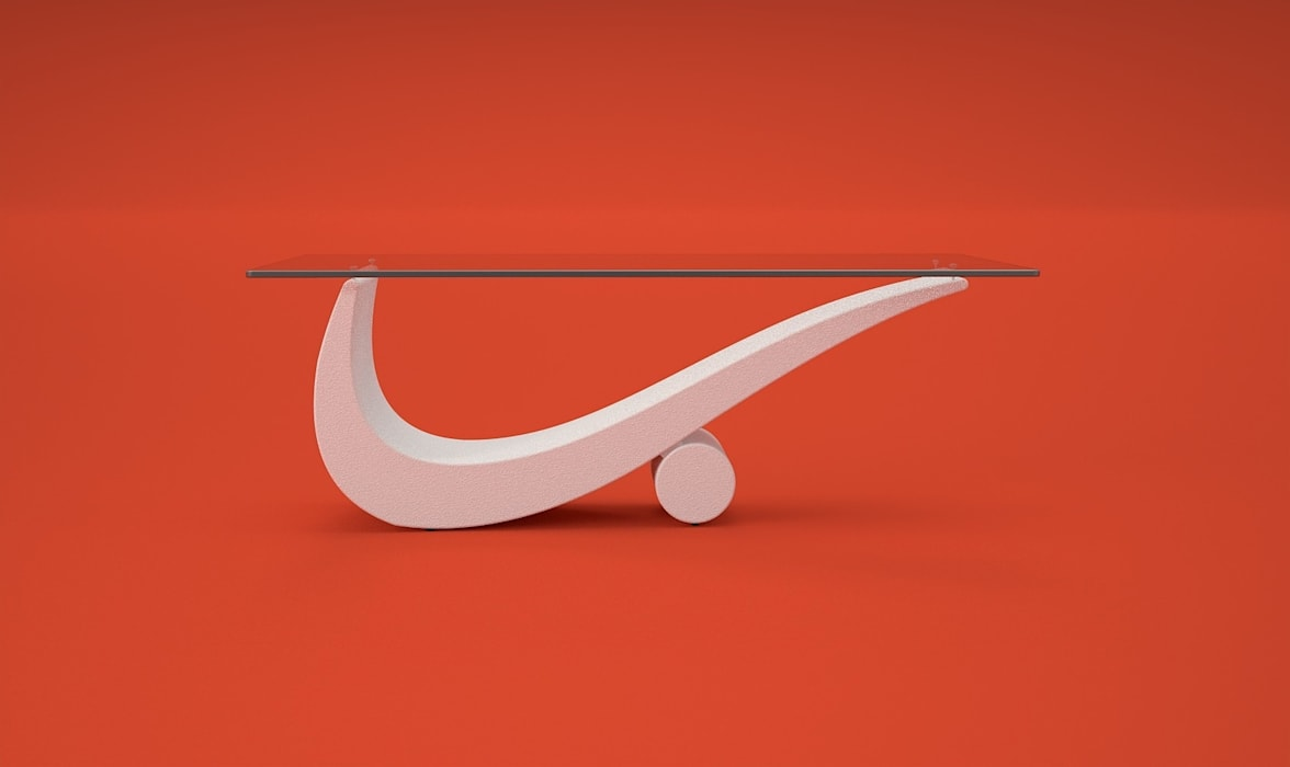 DABLEC di Tiziano Moletta Living roomSide tables & trays Synthetic White