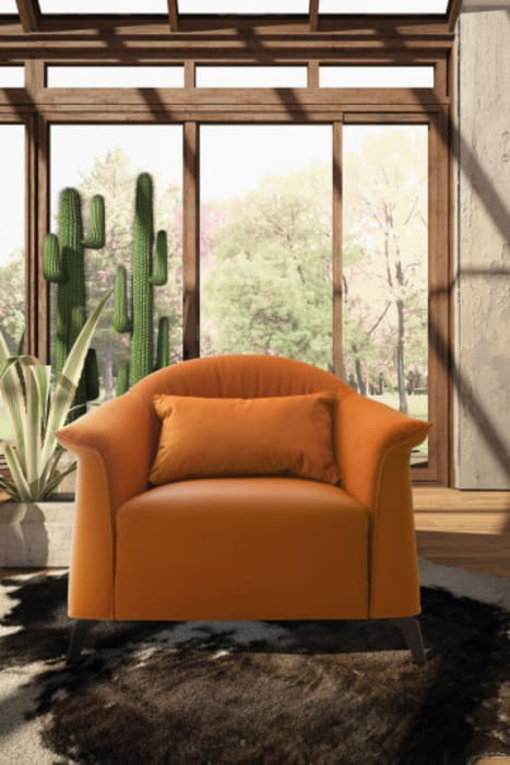 Ruang Keluarga Modern Oleh L&M design di Marelli Cinzia Modern