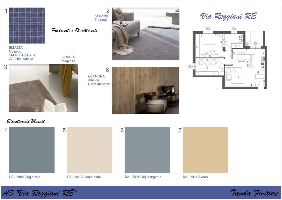 Dinding & Lantai Modern Oleh Home Relooking REmilia Modern