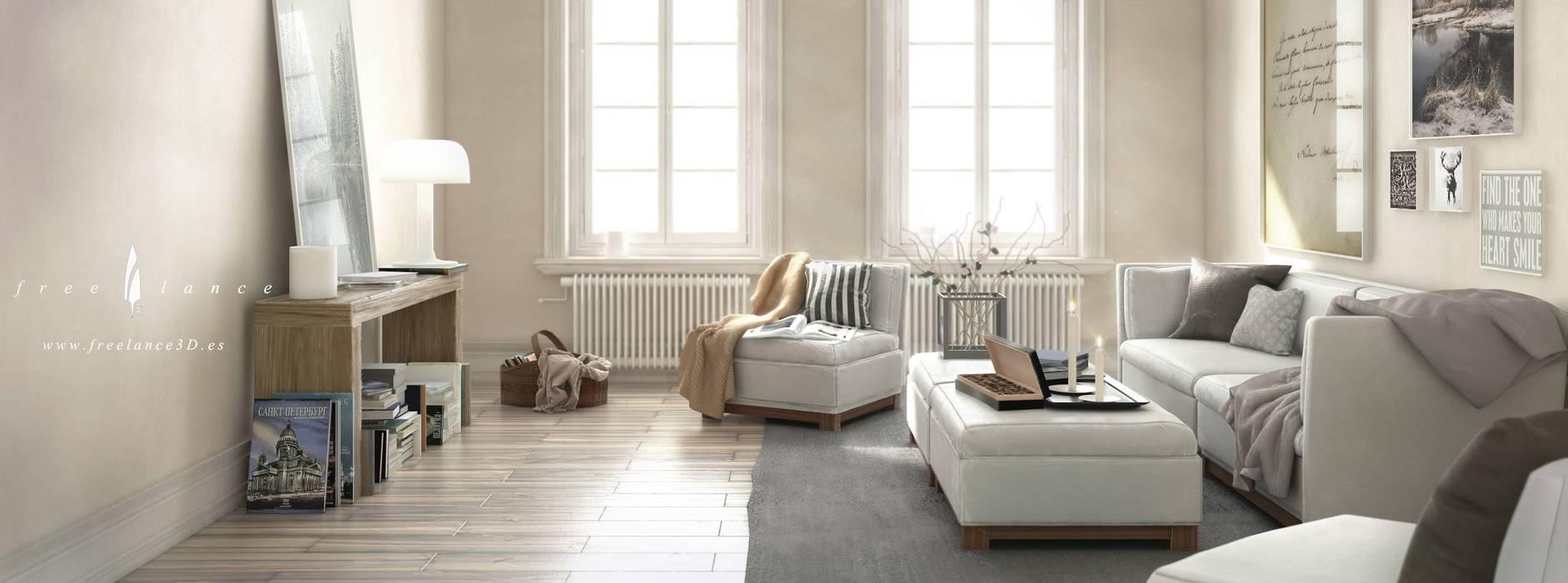 Freelance3d Modern living room