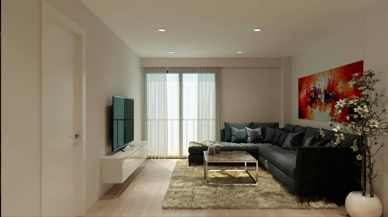 Freelance3d Salon moderne