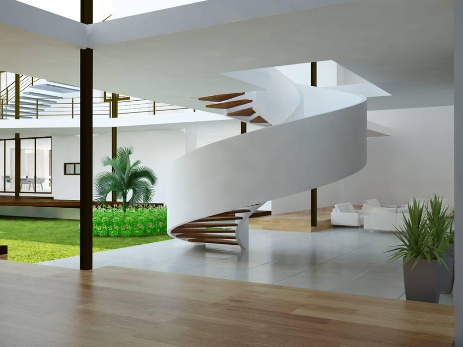 Escaleras de JARAMILLO B DESIGN Minimalista