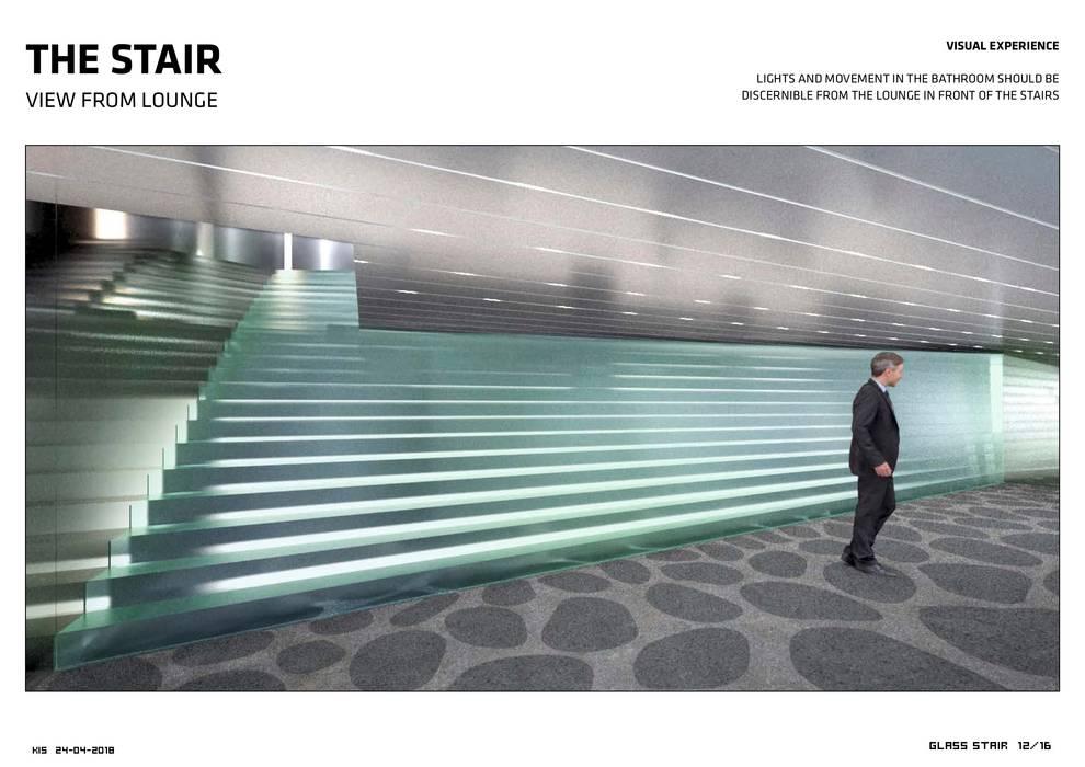 Glas-Fan Kistefos Moderne Museen von Siller Treppen/Stairs/Scale Modern Glas