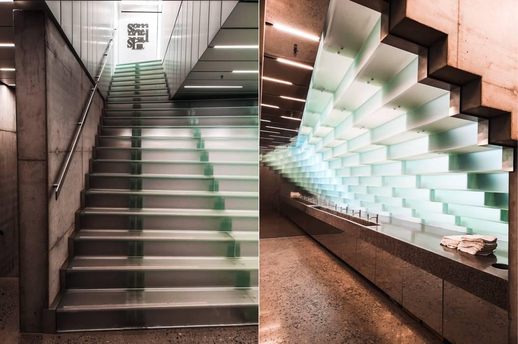 de Siller Treppen/Stairs/Scale Moderno Vidrio
