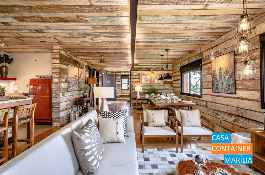 by Casa Container Marilia - Barros Assuane Arquitetura Country