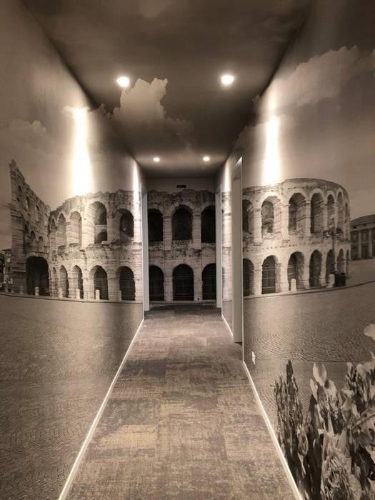 Dinding & Lantai Gaya Eklektik Oleh Creativespace Eklektik