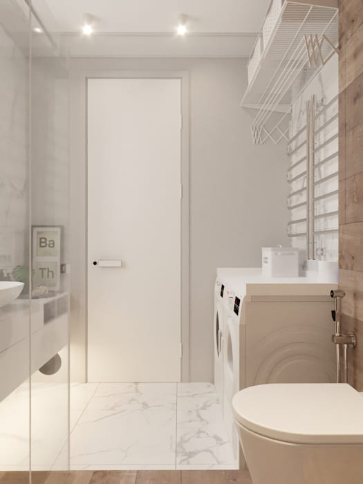 Vashantsev Nik Scandinavian style bathroom
