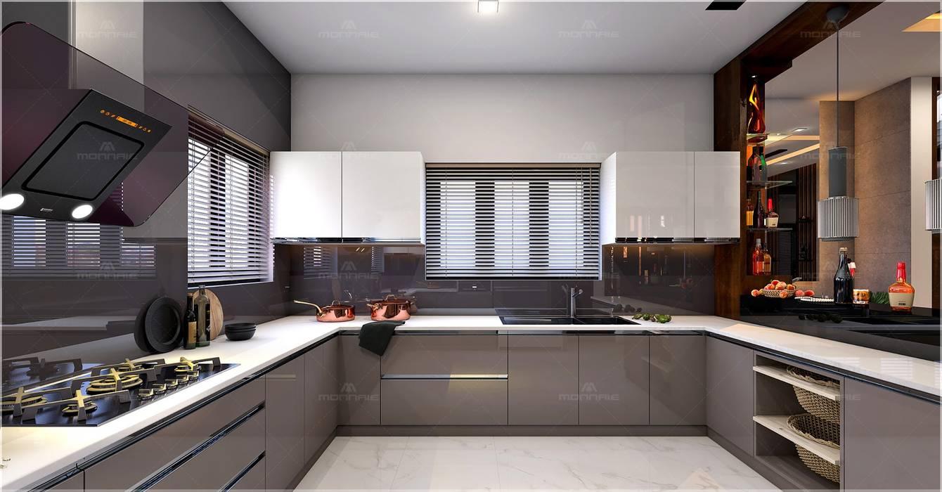 Most Beautiful Modern Kitchen Ideas By Monnaie Interiors Pvt Ltd Classic Homify