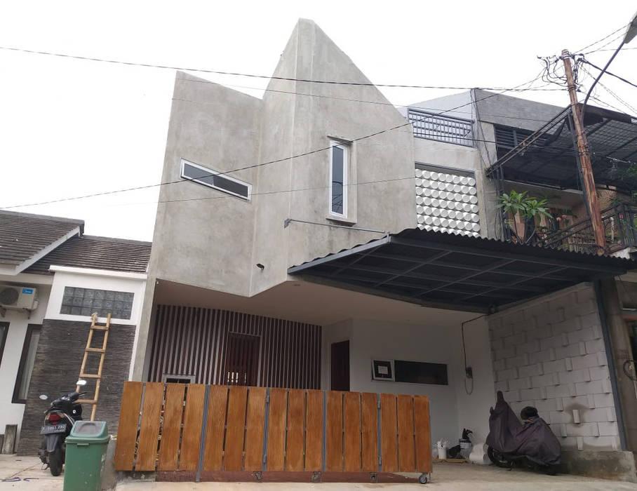 facade depan PT.Matabangun Kreatama Indonesia Rumah tinggal