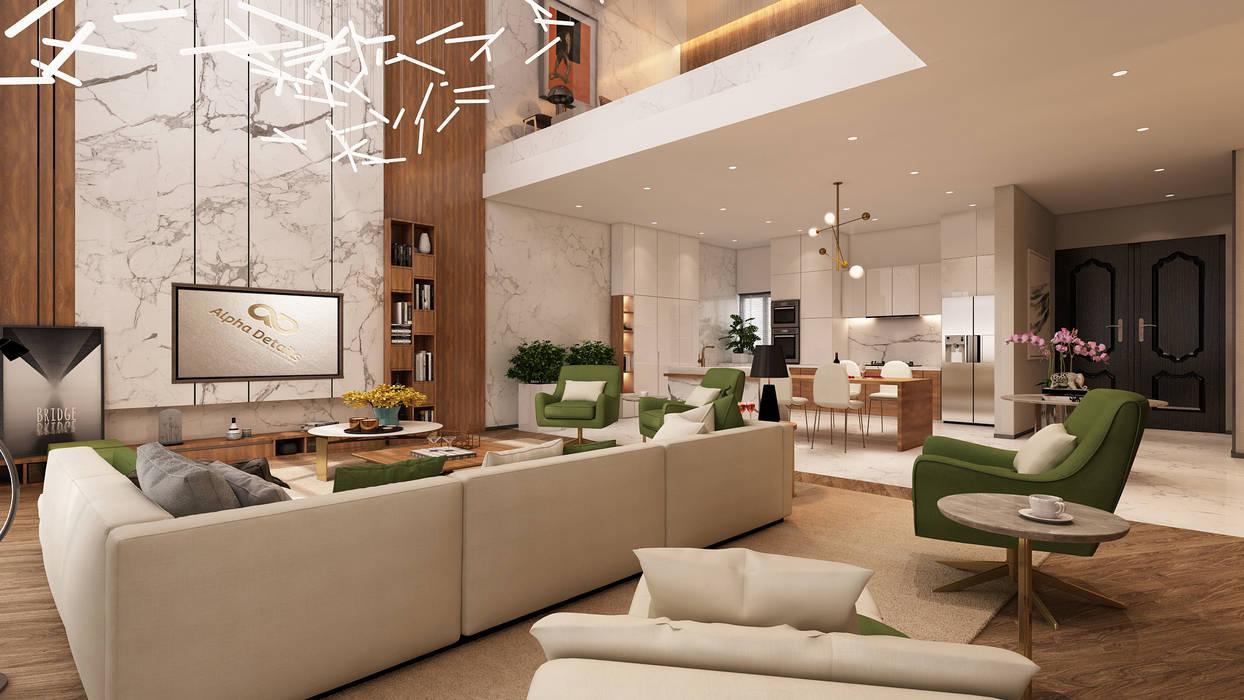 Projeto de interiores , Albufeira Salas de jantar modernas por Alpha Details Moderno