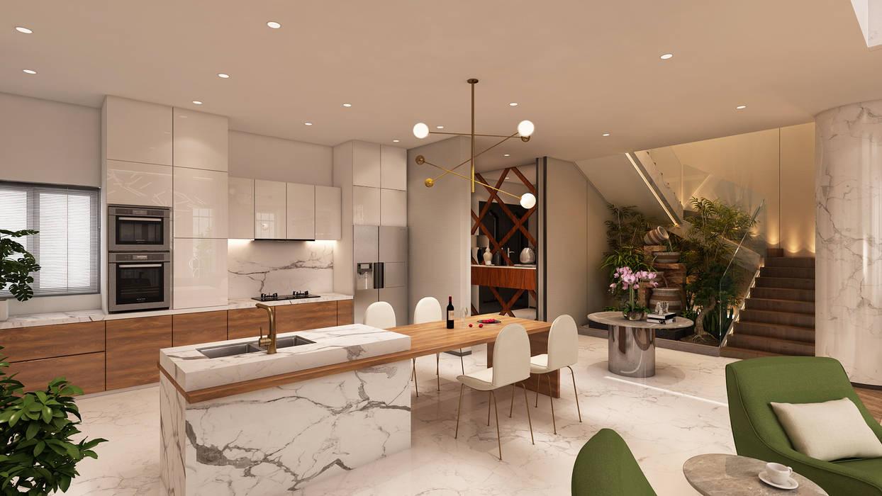 Projeto de interiores , Albufeira por Alpha Details Moderno