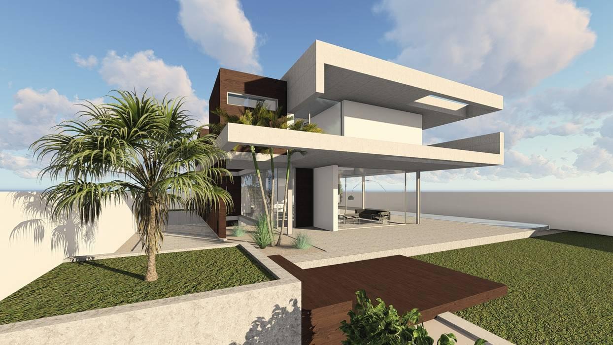 Casa LA GOLA Casas de estilo moderno de Muñoz Prats Arquitectos Moderno Hormigón