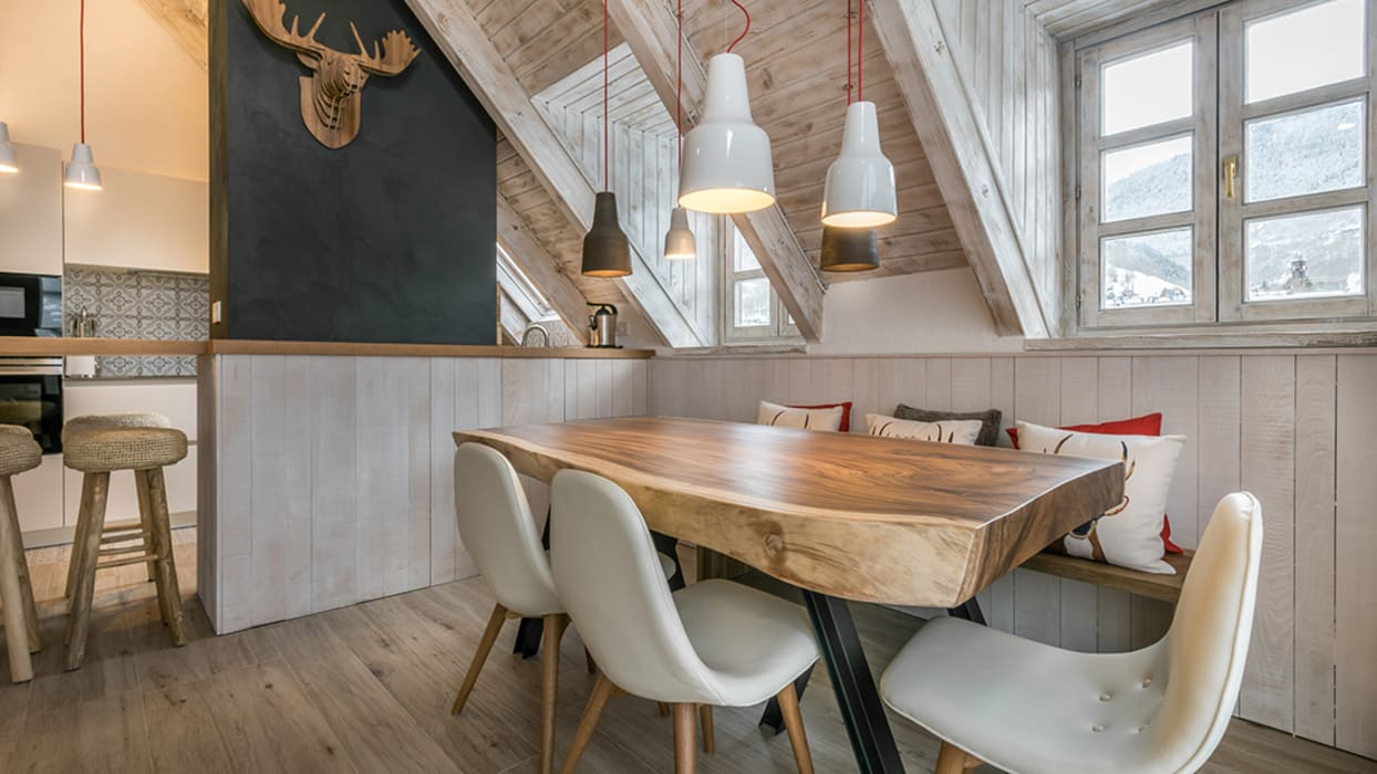 Modern dining room by BeDeO RELATIONAL/project Modern Wood Wood effect