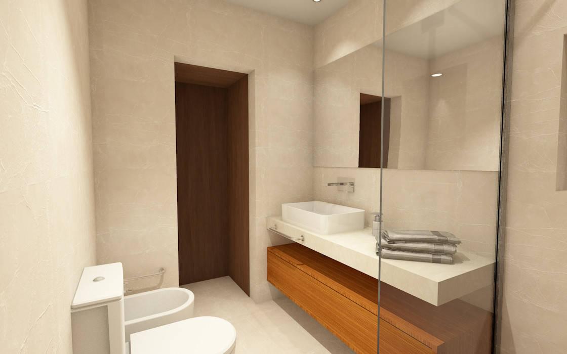 Kamar Mandi Modern Oleh Eduardo Coelho | Arquitecto Modern Keramik