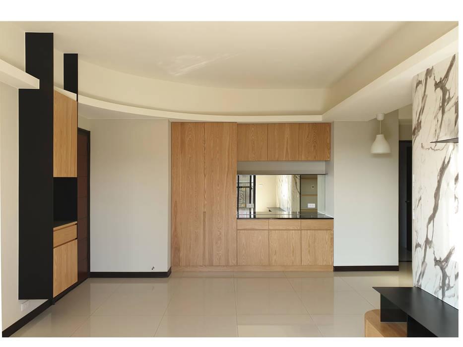 展昇奧斯卡 木皆空間設計 Minimalist dining room
