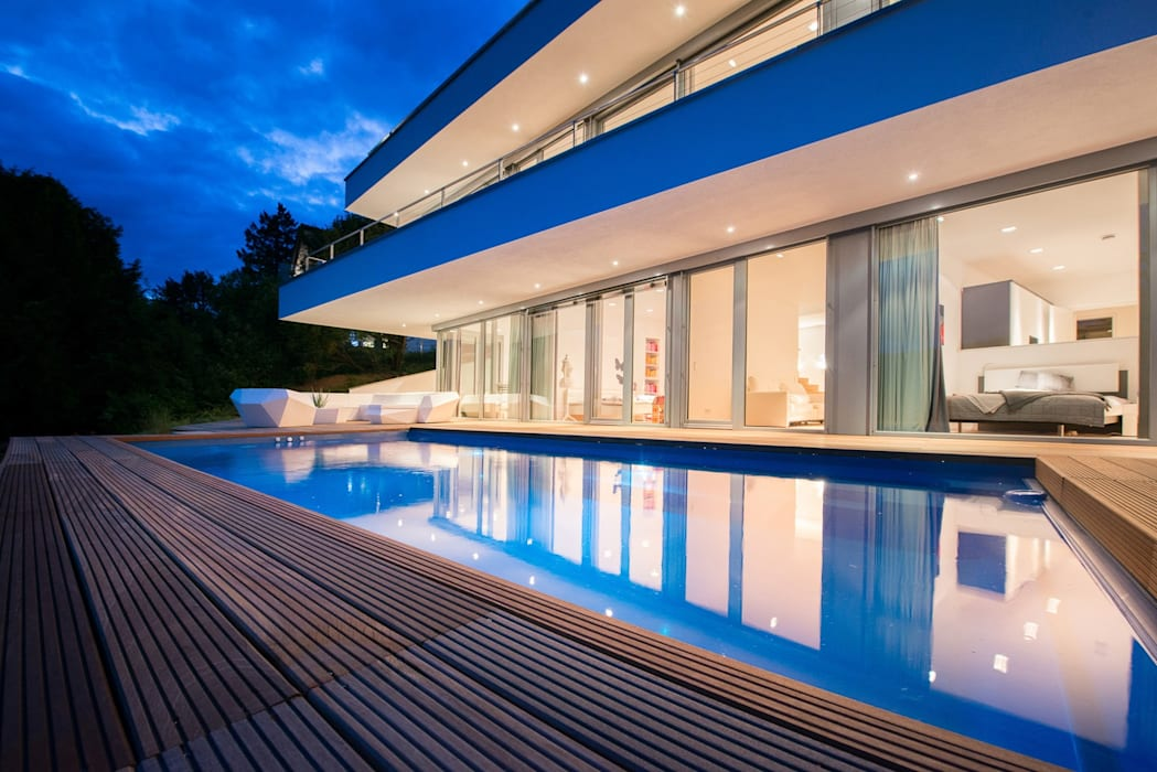 Modern Pool by Avantecture GmbH Modern
