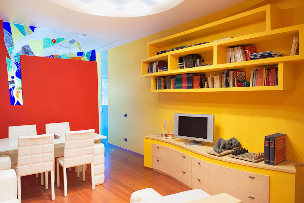 Livings de estilo moderno de Studio di Architettura e Design Giovanni Scopece Moderno