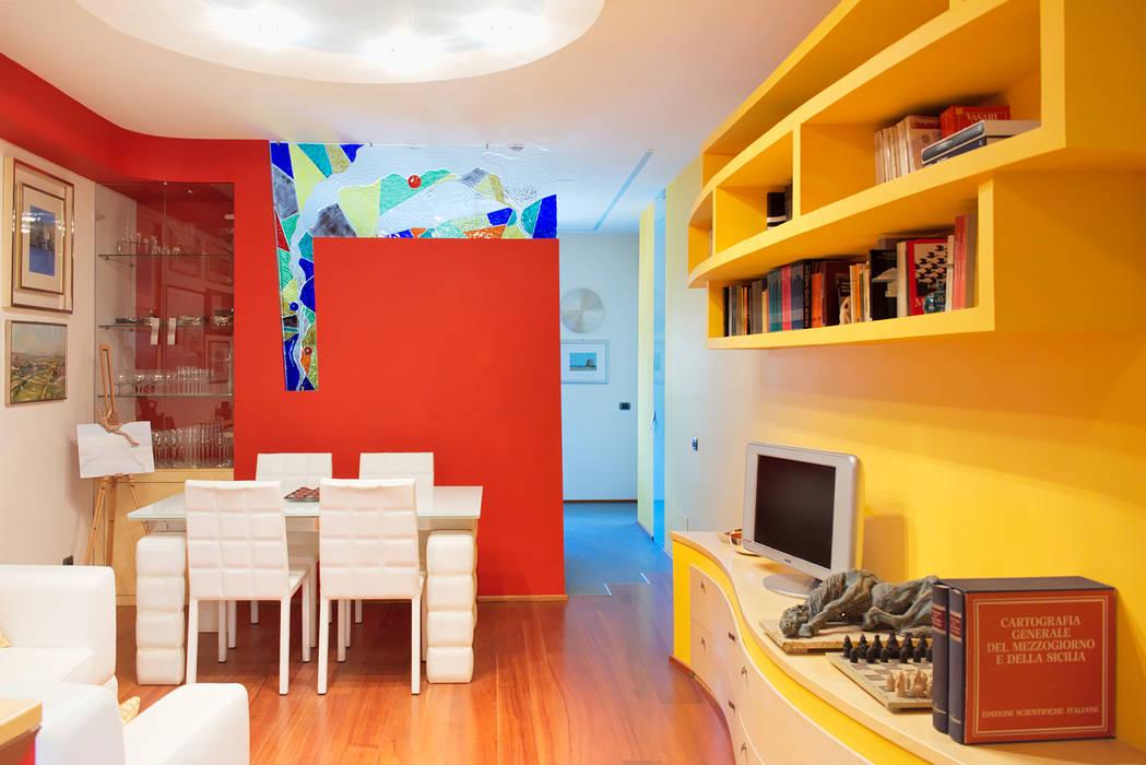 soggiorno Soggiorno moderno di Studio di Architettura e Design Giovanni Scopece Moderno