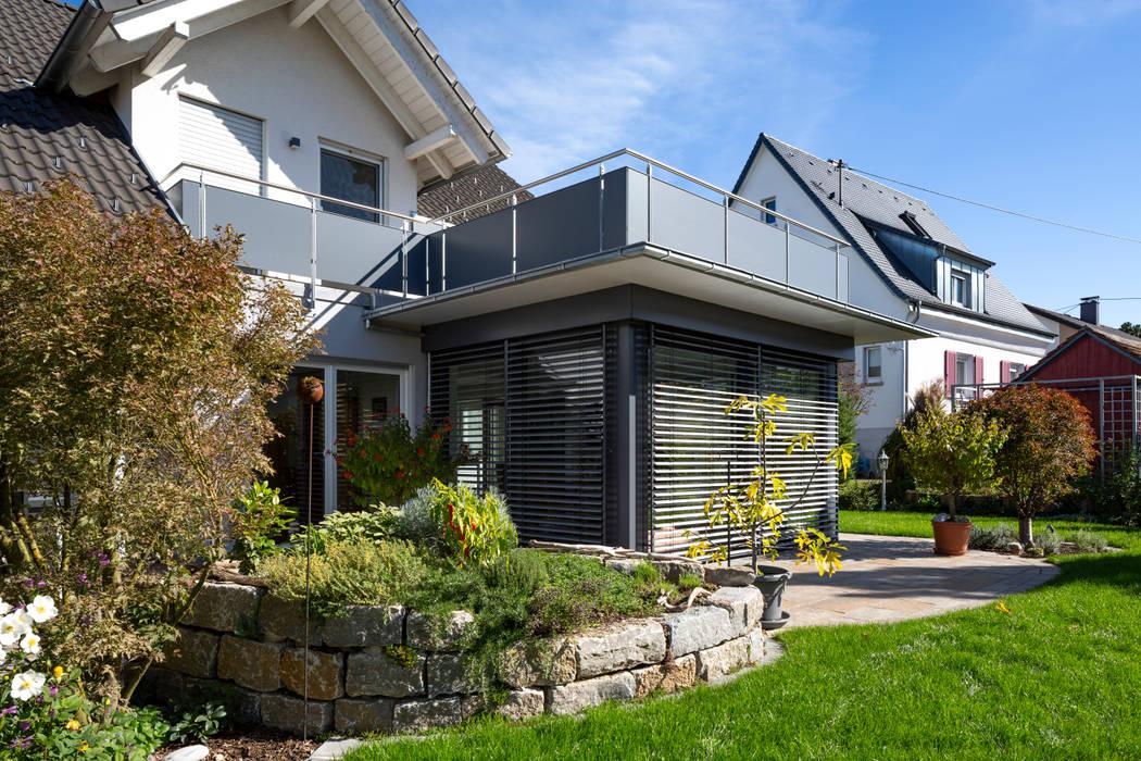 Anbau, Tettnang Moderne Häuser von Architektur Andrea Rehm Modern
