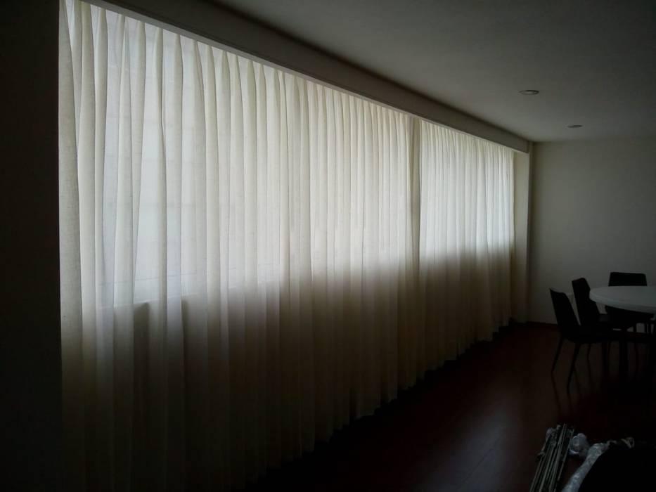 Cortina Tradicional Gobash Puertas y ventanasPersianas y estores Beige