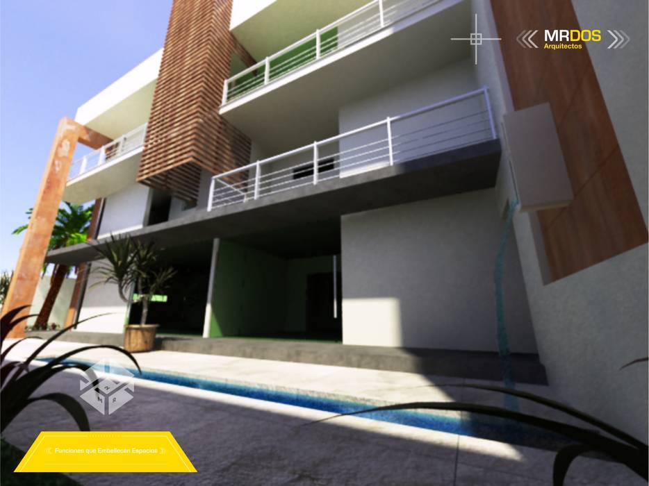 Modern Houses by MRDos Arquitectos Modern