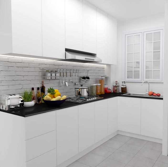 Dapur Modern Oleh Swish Design Works Modern Kayu Lapis