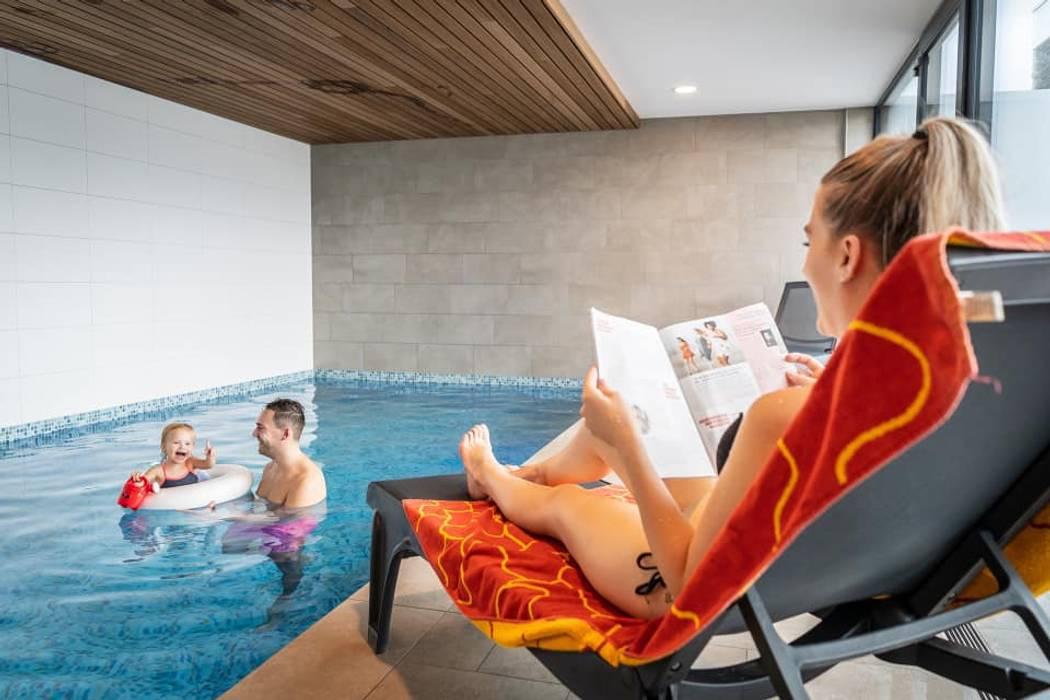 Modern Pool by hans moor architects Modern