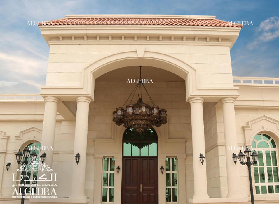 Luxury Villa Entrance by Algedra Interior Design Classic
