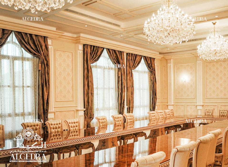 Luxury Dining Room Design Classic style dining room by Algedra Interior Design Classic