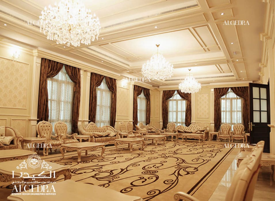Luxury Majlis Design by Algedra Interior Design Classic
