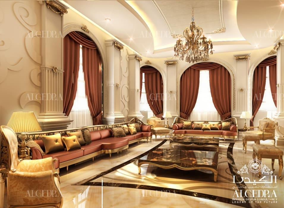 Luxury Majlis Interior Design by Algedra Interior Design Classic