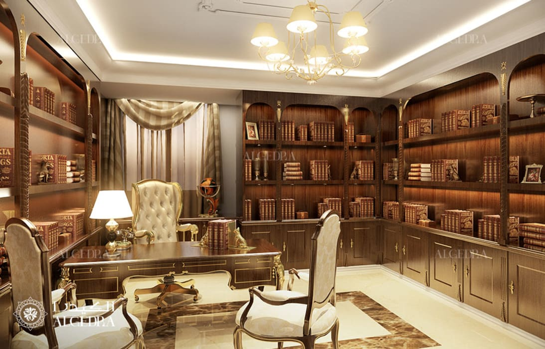 Classic Interior Design Study Room by Algedra Interior Design Classic