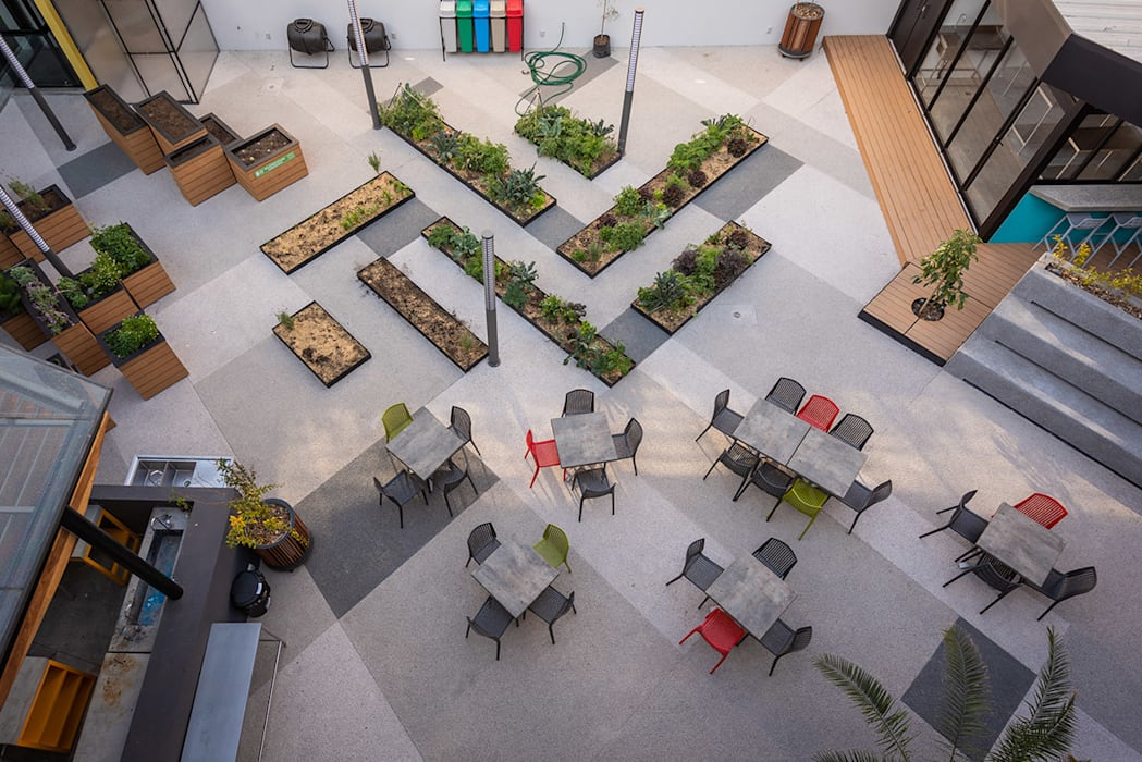 Adamá Lab - ARCO Arquitectura Contemporánea Jardines de estilo moderno de ARCO Arquitectura Contemporánea Moderno